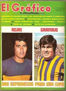 Boca - Central - Previo a la copa libertadores - feb 1971