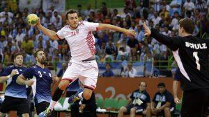 Contra una potencia mundial en handball como Croacia, Argentina esuvo a punto de dar un batacazo.