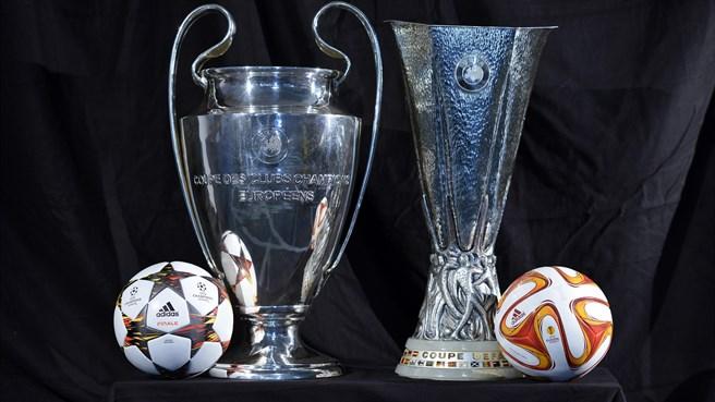 Resultado de imagen para champions league y europa league
