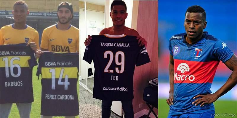 Futbolistas colombianos en Argentina