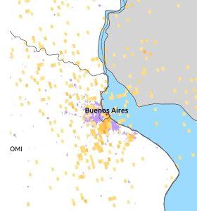 contaminacion en Caba despues de la primer semana de cuarentena