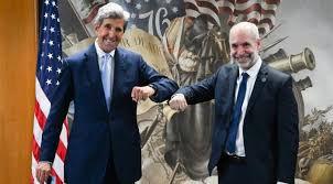 Horacio Rodriguez Larreta y John Kerry